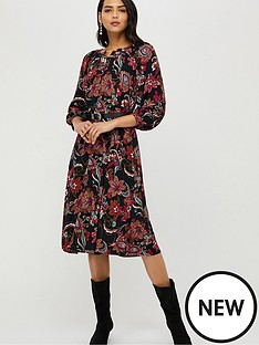 monsoon-danny-paisley-midi-dress-black