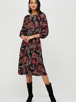 monsoon-danny-paisley-midi-dress-black