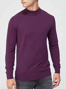 very-man-turtlenbspneck-jumper-wine