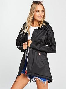 hunter-original-vinyl-smock-black