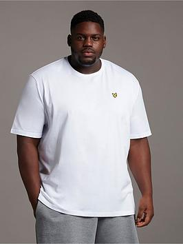 Lyle & Scott Lyle & Scott Big &Amp; Tall Plain T-Shirt - White Picture
