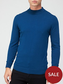 very-man-turtle-neck-jumper-blue