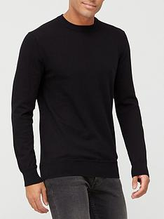 very-man-crew-neck-jumper-black
