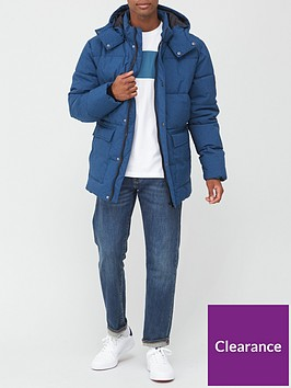 very-man-textured-padded-jacket-blue