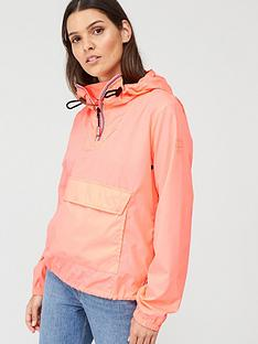 hunter-womens-original-shell-cagoule-light-pink