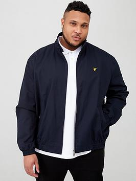 Lyle & Scott Lyle & Scott Big &Amp; Tall Harrington Jacket - Navy Picture