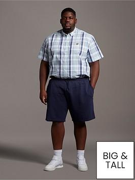 lyle-scott-big-amp-tall-sweat-shorts-navy