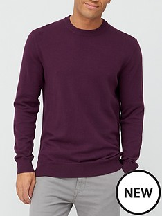 very-man-crew-neck-jumper-winenbsp