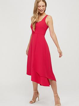 Monsoon Monsoon Poppy Sustainable Plain Dress - Pink Picture