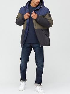very-man-colourblock-padded-jacket-multi