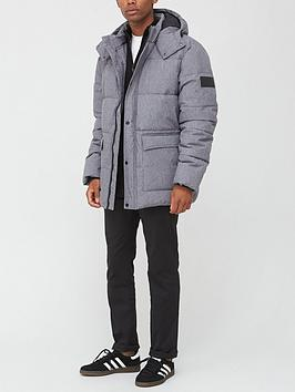 very-man-textured-padded-coatnbsp--grey