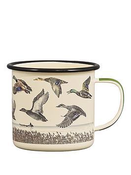 Gentlemen's Hardware  Gentlemen'S Hardware Lake &Amp; Ducks Enamel Mug