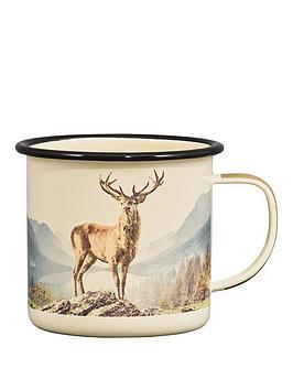 Gentlemen's Hardware  Gentlemen'S Hardware Deer Enamel Mug