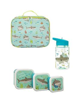 Sass & Belle Sass & Belle Shelby The Shark Lunch Bag, Lunch Boxes And  ... Picture