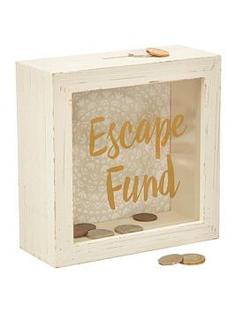 Sass & Belle Sass & Belle Escape Fund Money Box Picture