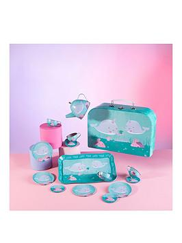 Sass & Belle Sass & Belle Alma Narwhal Kid'S Tea Set Picture