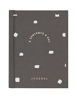 Kikki.K Kikki.K A Sentence A Day Journal Dream Plan Picture