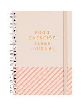 Kikki.K Kikki.K Food. Exercise. Sleep Journal Inspiration Picture