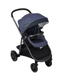 Graco Graco Time2Grow Stand Alone Stroller With Raincover &Amp; Adaptor Picture