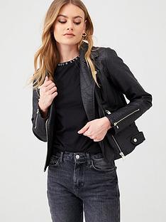 river-island-river-island-pu-quilted-biker-jacket-black