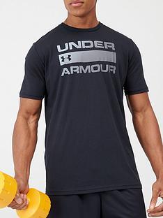 under-armour-trainingnbspteam-issue-wordmark-short-sleeve-t-shirt-black