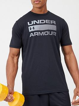 under-armour-trainingnbspteam-issue-wordmark-short-sleeve-t-shirt-black