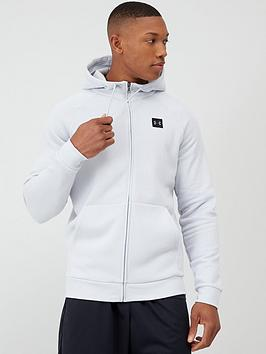 Under Armour Under Armour Rival Fleece Full Zip Hoodie - Grey Picture