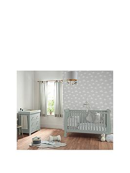 Mamas & Papas Mamas & Papas Mia Sleigh Cot Bed And Dresser Changer Picture