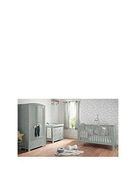 Mamas & Papas Mamas & Papas Mia Sleigh Cot Bed, Dresser Changer And  ... Picture