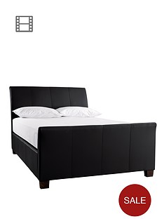 idaho-leather-lift-up-bed-frame-with-optional-mattress-and-next-day-delivery