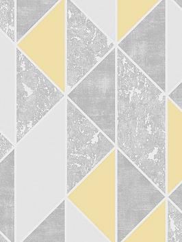 Superfresco Superfresco Milan Geo Wallpaper &Ndash; Yellow Picture