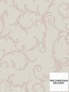 superfresco-easy-empress-scroll-rose-gold-wallpaper