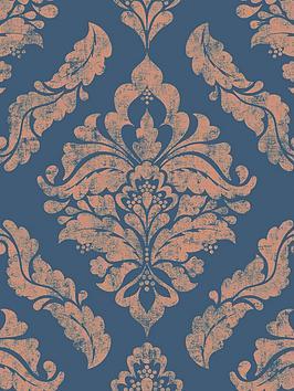 boutique-damaris-blue-gold-wallpaper