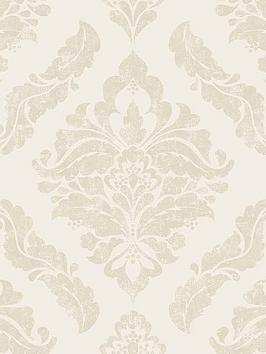 boutique-damaris-cream-wallpaper