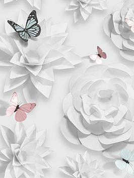 superfresco-easy-origami-floral-wallpaper