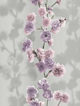 Sublime Sublime Icy Blossom Lilac Wallpaper Picture