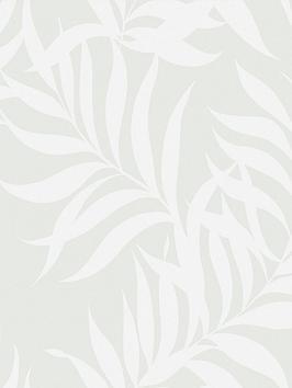 Superfresco Superfresco Amazonian Leaf Pearl Wallpaper Picture