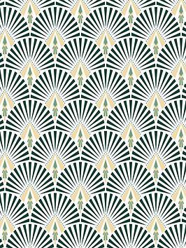 superfresco-easy-selena-dark-green-wallpaper