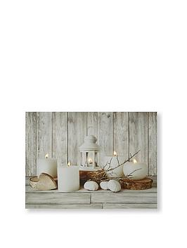 Graham & Brown Graham & Brown Coastal Treasures Canvas Wall Art With Led  ... Picture