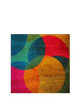 Graham & Brown Graham & Brown Neon Circle Framed Wall Art Picture