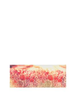 Graham & Brown  Peaceful Poppy Fields Canvas