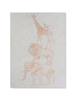 Graham & Brown Graham & Brown Safari Animals Canvas Wall Art Picture