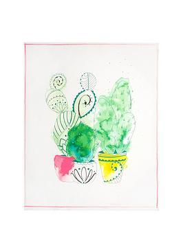 Graham & Brown Graham & Brown Cactus Craze Canvas Wall Art Picture