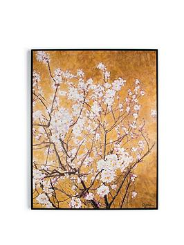 Graham & Brown Graham & Brown Oriental Blossom Hand Painted Framed Canvas  ... Picture