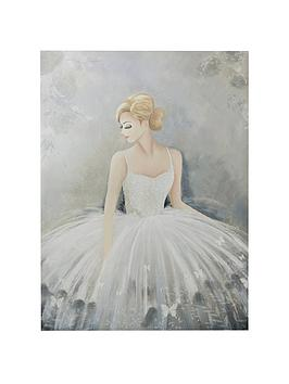 Graham & Brown Graham & Brown Beautiful Ballerina Canvas Wall Art Picture