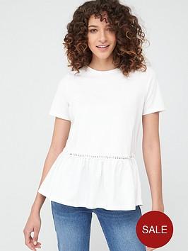 v-by-very-woven-panel-insert-t-shirt-white