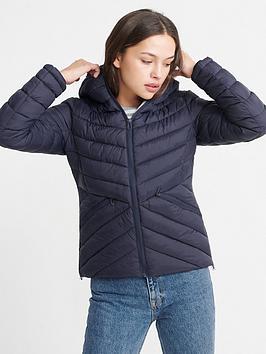 Superdry Superdry Long Sleeve Essentials Helio Padded Jacket - Navy Picture