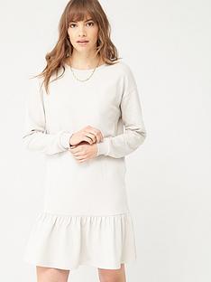 v-by-very-long-sleeve-peplum-hem-sweat-dress-stone