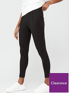 v-by-very-faux-suede-legging-black
