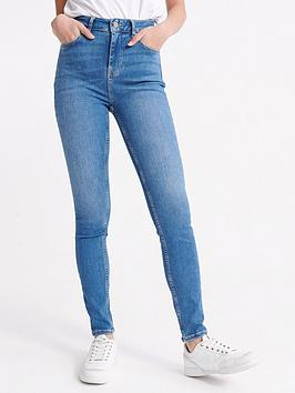 Superdry Superdry High Rise Skinny - Indigo Picture